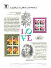 #1988 Complete Year Set #299-#320  USPS Commemorative Stamp Panels