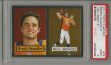 2012 Topps Chrome Brock Osweiler 1957 Inserts PSA 9 RC
