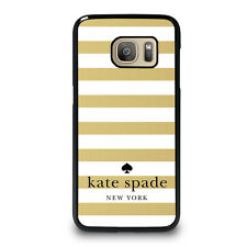 KATE SPADE GOLD Samsung Galaxy S4 S5 S6 S7 Edge S8 Plus Note Phone Case Cover