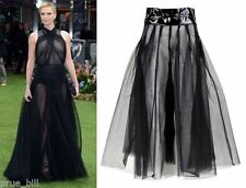 Tulle Long Solid Skirts for Women