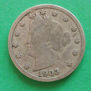 1903 USA United States Nickel SNo53019