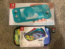 New listing Nintendo Switch Lite Handheld Console - Turquoise Bundle Crash Bandicoot & Case