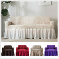Sofa Stretch Covers Jacquard Elastic Couch Slipcover Fabric Settee Protector Fit