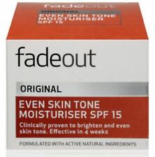 Fade out Original Brightening Moisturiser Spf15 50ml