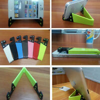 New Foldable Mobile Cell Phone Stand Holder for Smartphone&Tablet PC Universal
