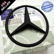 Genuine Black Benz Star Logo Trunk Rear Emblem W212 Badges Modified Decoration