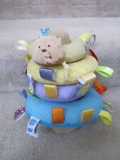 Taggies Early Years Animal Soft Ring Musical Baby Stacker