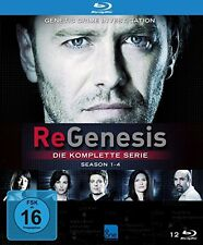 12 BluRay-Box ° ReGenesis ° Staffel 1 - 4 komplett ° NEU & OVP