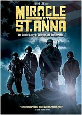 Miracle at St. Anna (2009, DVD NEUF) WS