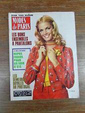 MODES DE PARIS + suppl. PATRONS ROBES No 1232 (Year Année 1972) Patterns