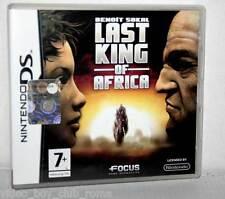 THE LAST KING OF AFRICA GIOCO USATO OTTIMO NINTENDO DS  EDIZIONE ITALIANA FR1