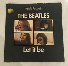 """THE BEATLES LET IT BE 7"""" 1st pressione 1970 Apple R5833 * RARO *"""