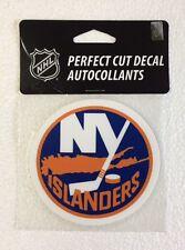 """NY York Islanders 4"""" x 4"""" Logo Truck Car Window Auto Die Cut Decal Color New NHL"""