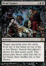 MTG: Head Games - Black Rare - 10th Edition - 10E - Magic Card