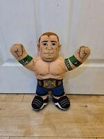 """WWE John Cena Mattel 2012 Brawling Buddies 16"""" WWE Champ Talking Soft Plush Toy"""
