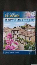Rick Steves Europe 10 New Shows 2017-2018 (2 DVD's)