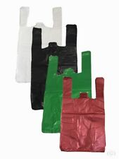 More details for plastic vest carrier bags small medium large xl all sizes and colours