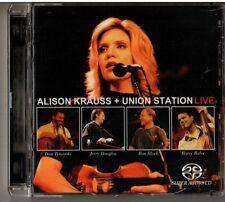 OOP Rare Alison Krauss & Union Station LIVE SACD 2 CD Set Hybrid