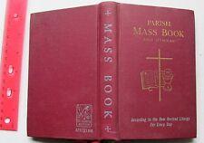 1965 Catholic Parish Mass Book And Hymnal St. Joseph Edition