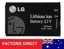 Battery LGIP-531A LGIP531A for LG KU250 KU250 KG280 B100 KX186 - 1 Year Warranty