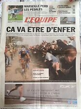 L'Equipe Journal 10/4/2005; Paris-Roubaix Boonen Favori/ Rossi/ Pelous/ Handball
