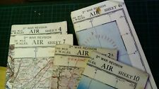 Ww2 Airmap X5 Sheets 2a, 4,6,7and 10