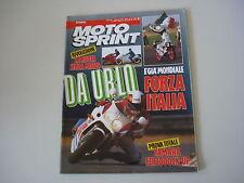 MOTOSPRINT 12/1989 SUZUKI DR 600 DJEBEL/YAMAHA FZR 1000 EX-UP