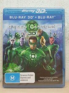 Green Lantern 3D Blu-ray DVD Region B