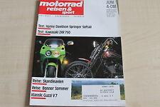 164687) Kawasaki ZXR 750 - Motorrad Reisen Sport 06/1989