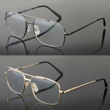 New No Line Reading Glasses Progressive Clear Lens Retro Square Frame Usa