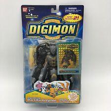 Digimon BlackWarGreymon Bandai America Digivolving Figure #13349 Rare New