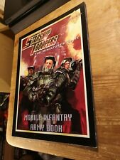 STARSHIP TROOPERS: Mobile infantry army book - Matthew Sprange - Miniatures Game