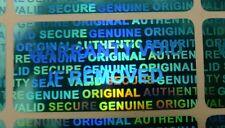 5000 Blue Security Seal Hologram Tamper Evident Warranty Labels Sticker -NSBUL30