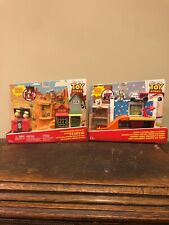 New Disney Pixar Toy Story Andy's Room & Western Adventure Sets w Mini Figures