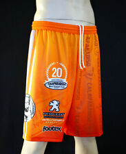 FOOTEX  Pantaloncino Beach Volley BVP Made in Italy Colore Arancione Poliestere