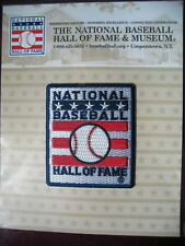 Official MLB Hall of Fame Patch