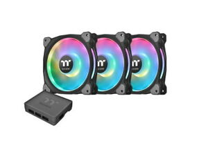 Thermaltake Riing Duo 14 RGB 140mm Computer Case Fans - Triple Pack