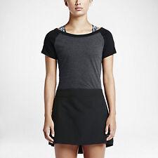NEW Nike Women's Sandie Zip Top 685414 010 Grey/Black Size Small $75 NWT