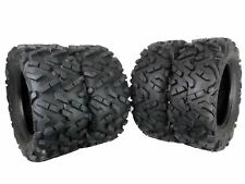 MASSFX 4 Set Dual Compound 27x11-14 Rear 27x9-14 Front ATV Tires 6 Ply