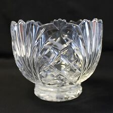 "Fifth Avenue Crystal Wellington 5"" Bowl Leaded Multi Purpose Candy Dish Nuts"