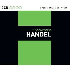 THE COMPOSERS 4 CD NEU HÄNDEL,GEORG FRIEDRICH