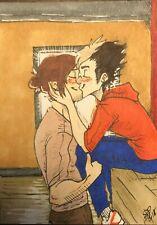 ACEO - Haikyuu!!, Asanoya, Fan Art, Nishinoya Yuu, Asahi Azumane, Original Work
