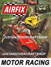 Aifix Motor Racing ranura de coche 1966 gran tamaño póster ANUNCIO FOLLETO signo de tienda