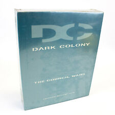 Dark Colony: The Council Wars for PC CD-ROM in Big Box by Take-Two, 1998, Sealed