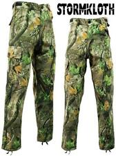 Stormkloth Camouflage Camo Cargo Trousers Pants Hunting Fishing Outdoor