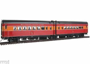 HO BROADWAY LIMITED SP SOUTHERN PACIFIC  DAYLIGHT 1941 WAR TIME # 699 LIGHTED