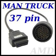MAN F2000 L2000  diagnostic cable 37 PIN lead  AUTOCOM, DELPHI, WURTH, ECLIPSE
