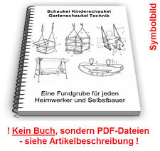 Schaukel selbst bauen - Kinderschaukel Gartenschaukel Technik Patente