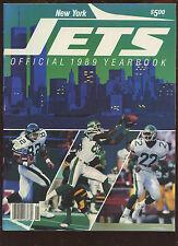 1989 NFL Football Yearbook New York Jets NRMT