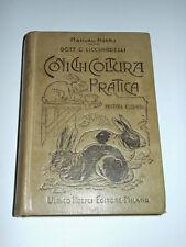 Manuali Hoepli - Coniglicoltura pratica - ed. 1918